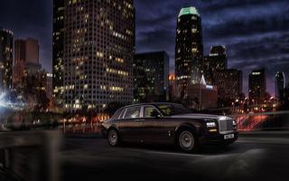 Rolls-Royce Phantom cu ampatament mărit a fost prezentat la Beijing