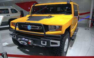 Copia chinezească a lui Hummer H1 a primit un facelift la Beijing