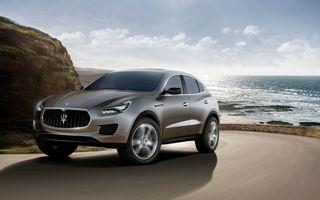 """Maserati: """"Versiunea de serie a lui Kubang va avea alt nume"""""""