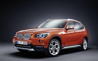 BMW X1 facelift, primele imagini şi informaţii oficiale