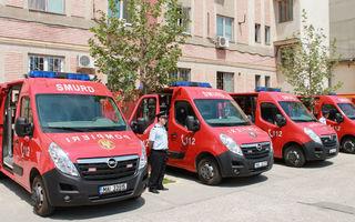 Opel Movano a intrat în dotarea Inspectoratului pentru Situaţii de Urgenţă