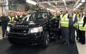 Land Rover Freelander 2 aniversează 300.000 de unităţi produse