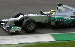 Rosberg admite că Mercedes are deficienţe în virajele rapide