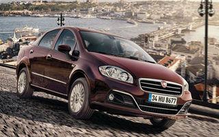 Fiat Linea primeşte un facelift subtil