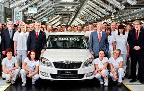 Skoda Fabia: 3.000.000 de unităţi produse
