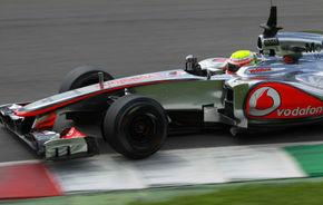 McLaren a evaluat un nas înălţat în testele de la Mugello