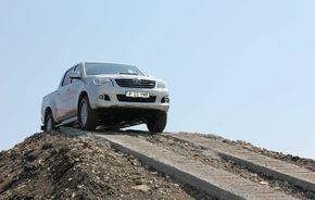 Toyota a deschis un circuit de off-road în Bucureşti