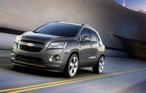 Chevrolet Trax, primele imagini şi informaţii oficiale ale noului SUV de segment B