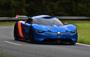 Primele imagini cu noul Renault Alpine 110-50