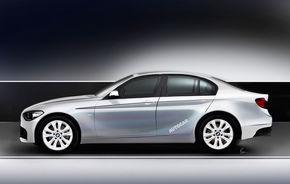BMW ar putea lansa în 2015 un nou model: Seria 1 sedan