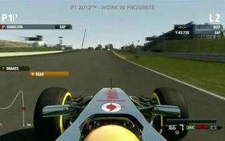 VIDEO: Primul clip video cu noul joc F1 2012