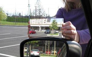 SUA: Un profesor de matematică a inventat oglinda laterală fără unghiuri moarte
