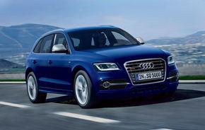 Audi SQ5: diesel de 313 CP pentru cel mai puternic Q5