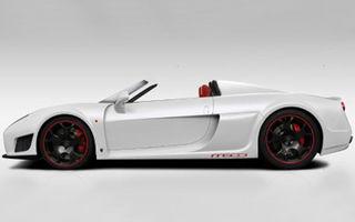 Noble M600 Roadster - primul teaser cu varianta decapotabilă