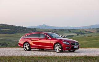 Mercedes-Benz CLS Shooting Brake - versiunea de serie