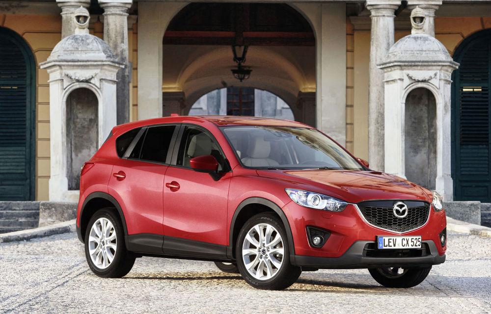 Mazda creşte producţia lui CX-5 şi a motoarelor Skyactive - Poza 1