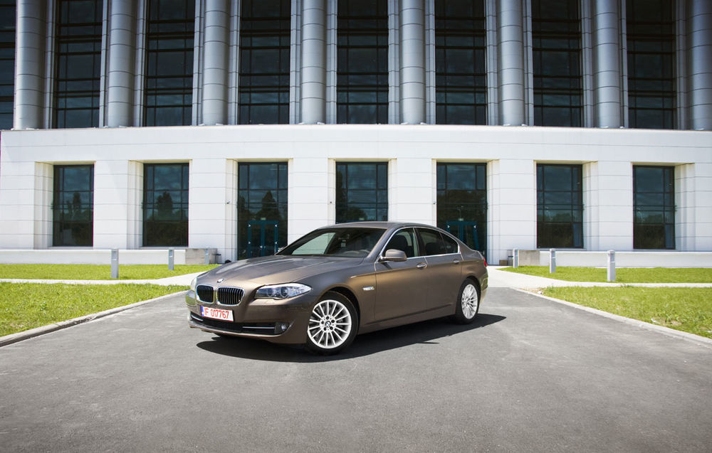 Test drive BMW Seria 5 facelift (2013-2016)