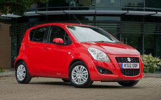 Suzuki Splash facelift, imagini şi informaţii oficiale