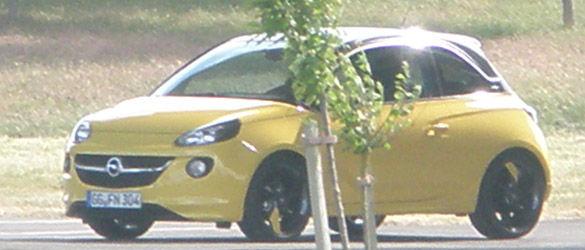 Opel Adam - primele imagini cu noul model german de oraş - Poza 5