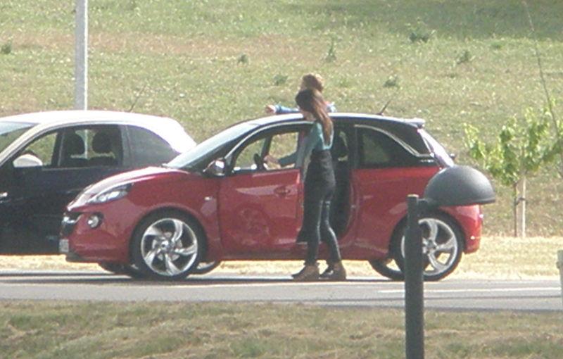 Opel Adam - primele imagini cu noul model german de oraş - Poza 1