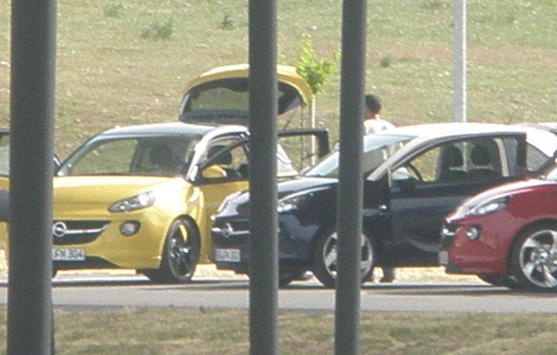 Opel Adam - primele imagini cu noul model german de oraş - Poza 2