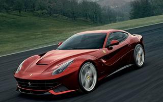Ferrari F12 Berlinetta pleacă de la 274.000 de euro în Italia