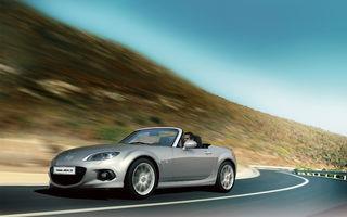 Mazda MX-5 facelift soseşte în România la toamnă