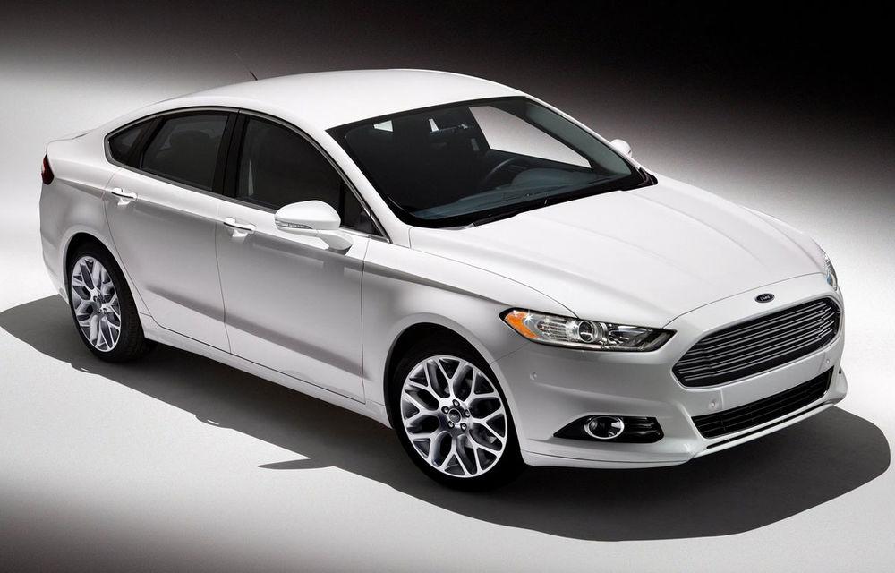 Ford amână lansarea noii generaţii Mondeo în Europa - Poza 1