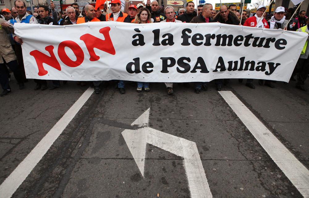 Grupul PSA închide uzina Aulnay din Franţa - Poza 1