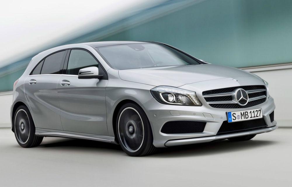 Mercedes-Benz: Motoarele pe benzină ale lui A-Klasse respectă normele Euro 6 - Poza 1
