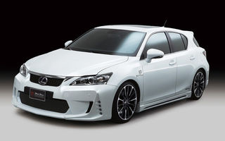Lexus CT 200h, tunat de Wald International