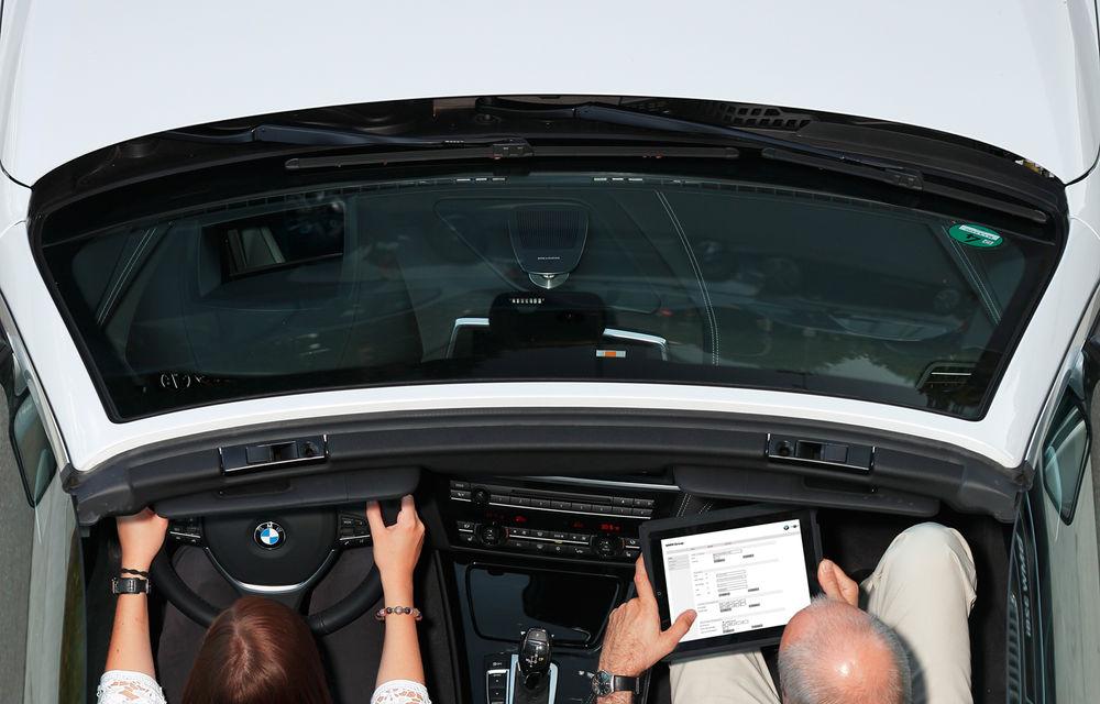 BMW inovează: internet 4G, navigaţia tactilă 3D şi dictarea SMS-urilor - Poza 6