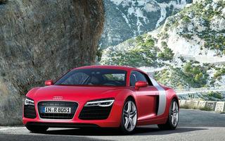 Audi R8 facelift, primele imagini şi informaţii