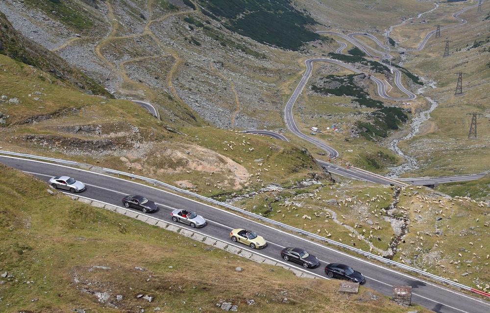 FOTOREPORTAJ: Cu Porsche 911 și Boxster pe Transfăgărășan - Poza 1