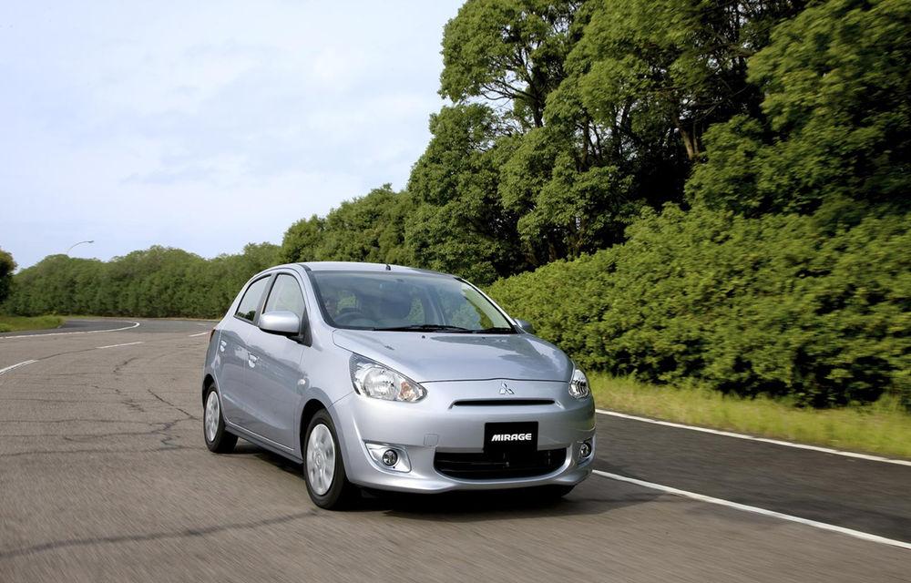 Mitsubishi Mirage - vânzările debutează pe 31 august în Japonia - Poza 2