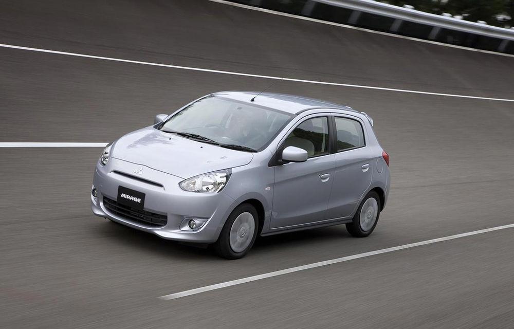 Mitsubishi Mirage - vânzările debutează pe 31 august în Japonia - Poza 1