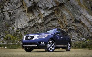 Nissan Pathfinder - primele imagini oficiale