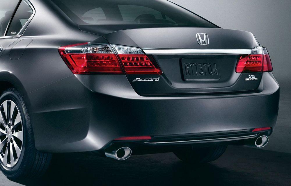 Honda Accord, primele imagini ale versiunii americane - Poza 4