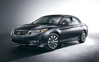 Honda Accord, primele imagini ale versiunii americane