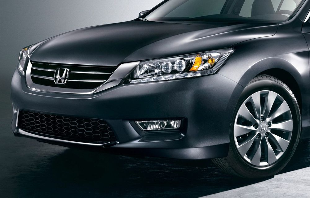 Honda Accord, primele imagini ale versiunii americane - Poza 3