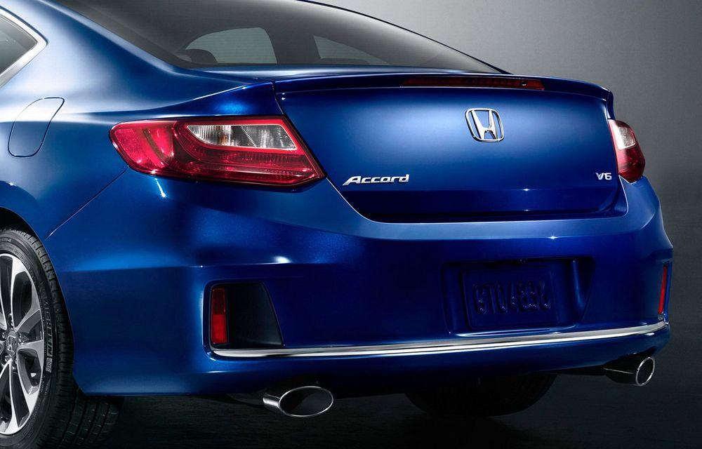 Honda Accord, primele imagini ale versiunii americane - Poza 8
