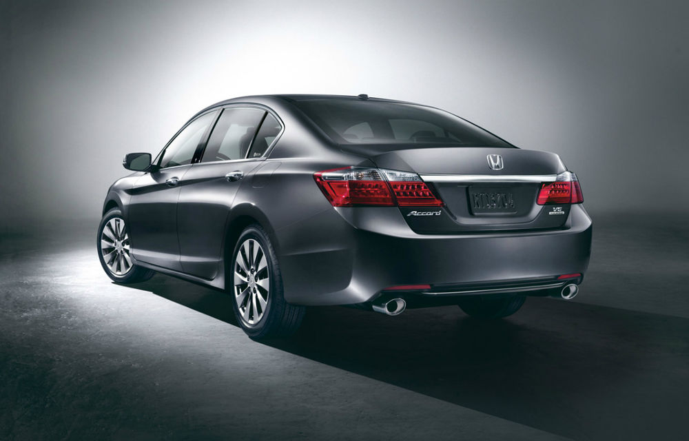 Honda Accord, primele imagini ale versiunii americane - Poza 2