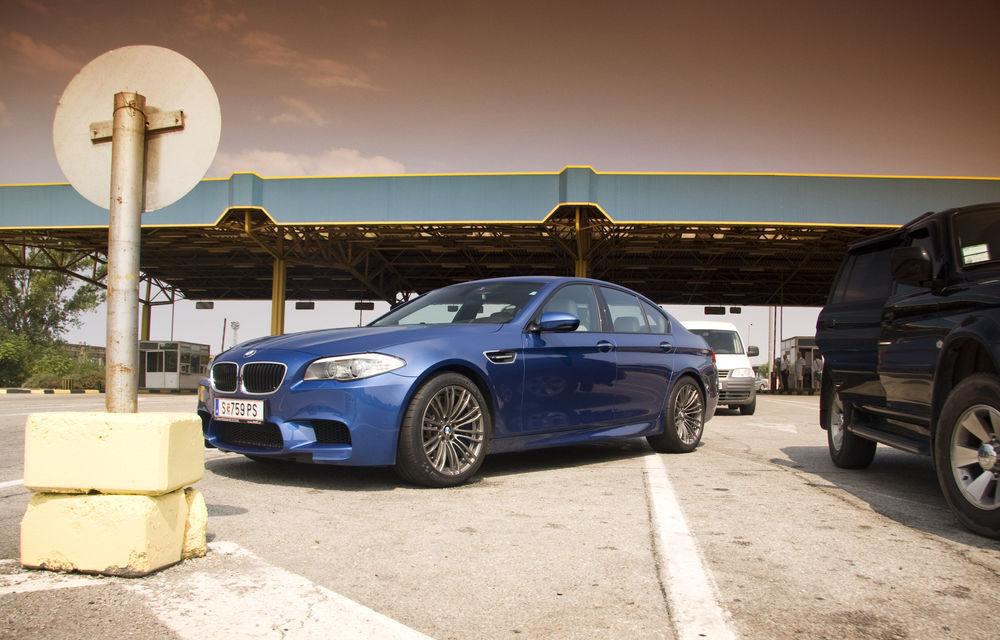 FOTOREPORTAJ: Călătorie Bucureşti-Sofia cu noul BMW M5 - Poza 16