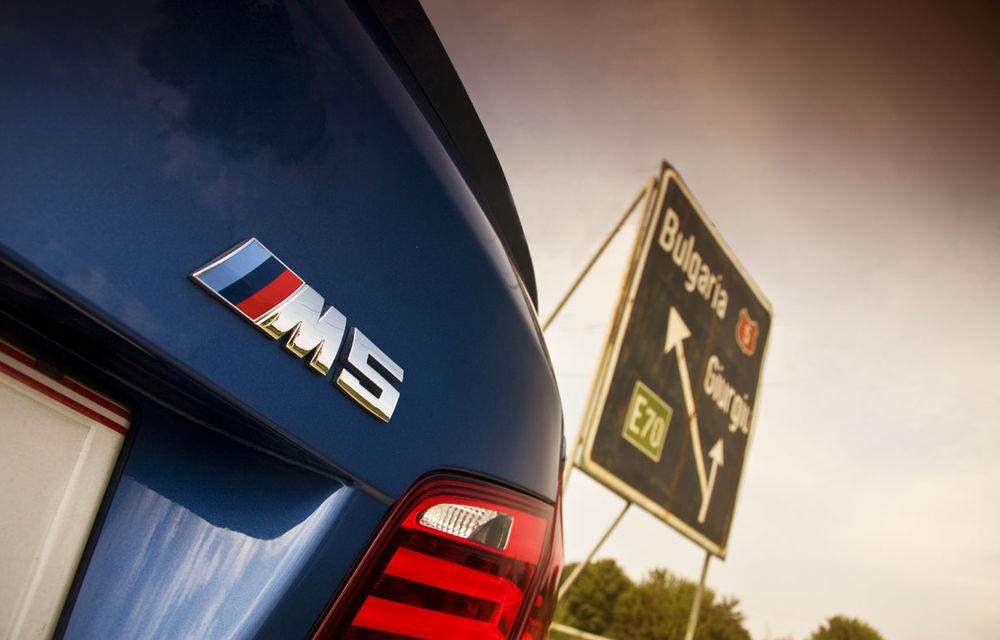 FOTOREPORTAJ: Călătorie Bucureşti-Sofia cu noul BMW M5 - Poza 13