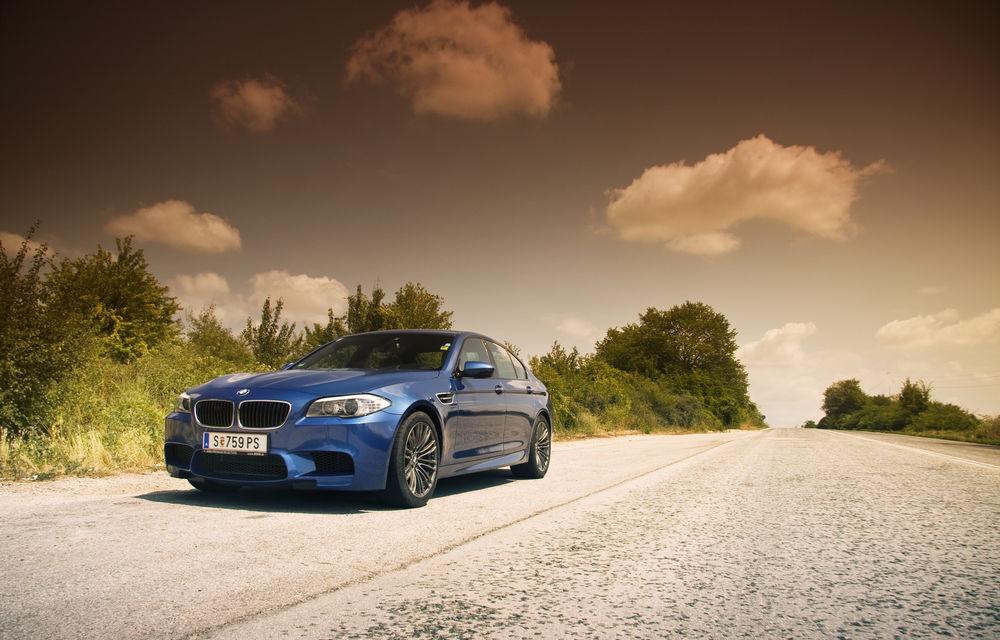 FOTOREPORTAJ: Călătorie Bucureşti-Sofia cu noul BMW M5 - Poza 19