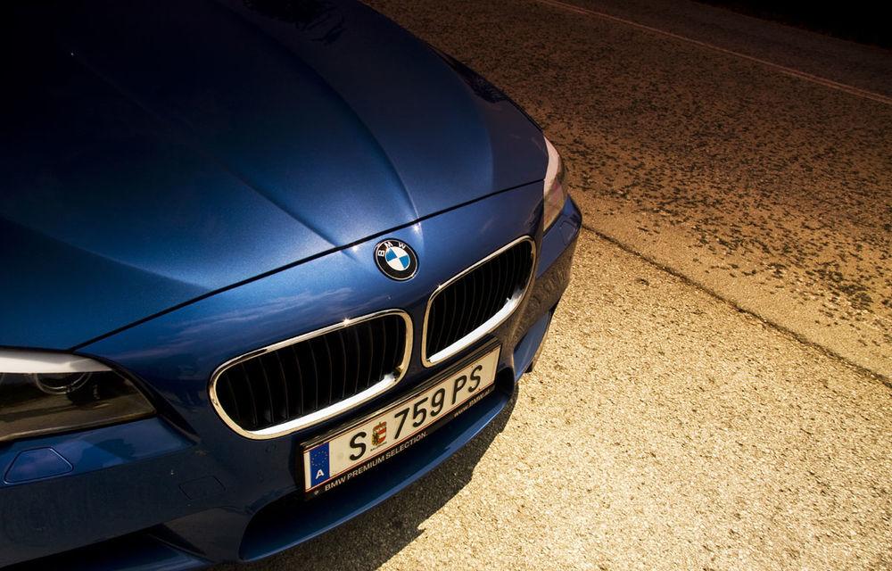 FOTOREPORTAJ: Călătorie Bucureşti-Sofia cu noul BMW M5 - Poza 20