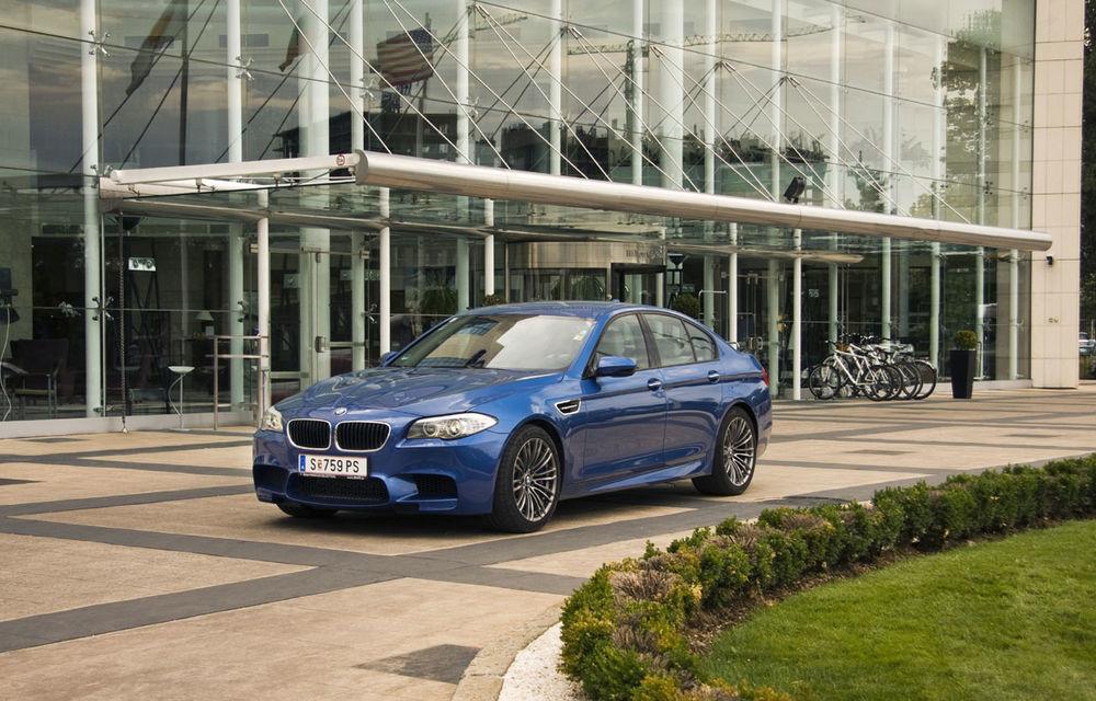 FOTOREPORTAJ: Călătorie Bucureşti-Sofia cu noul BMW M5 - Poza 28