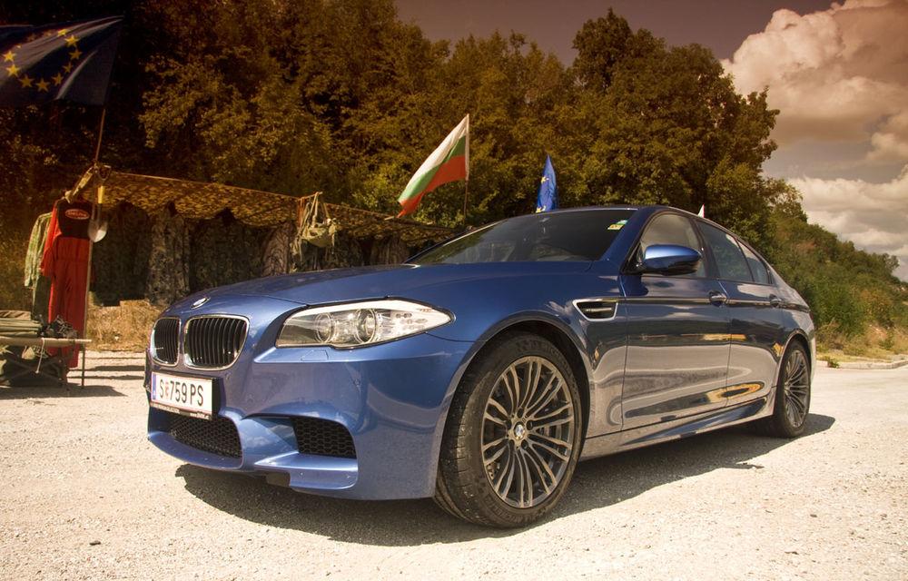 FOTOREPORTAJ: Călătorie Bucureşti-Sofia cu noul BMW M5 - Poza 23