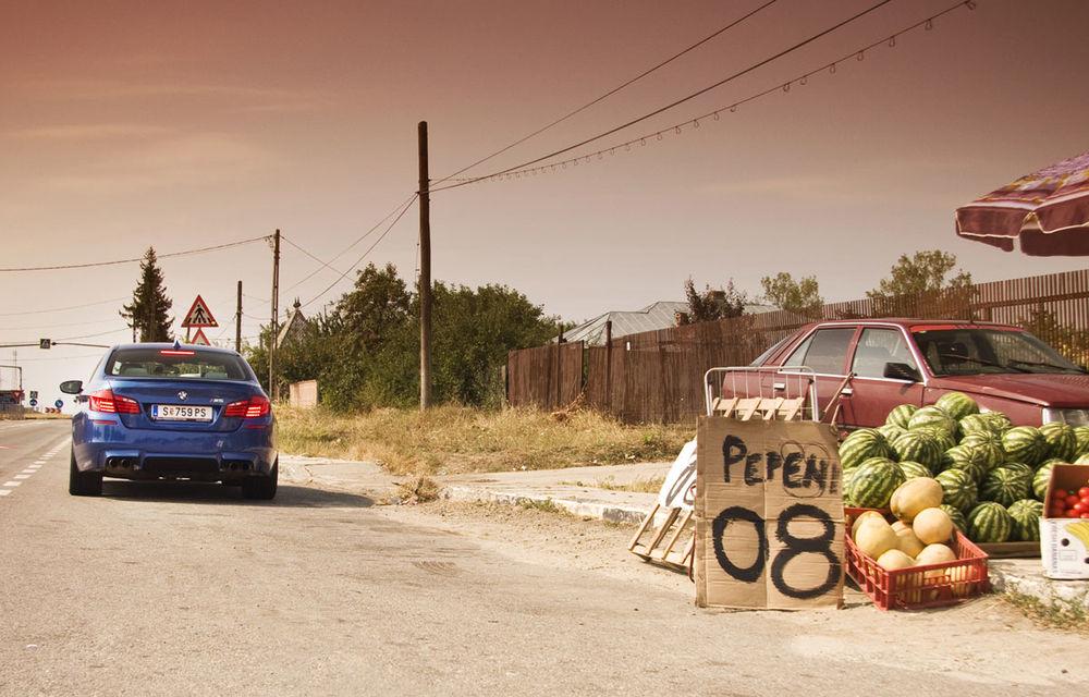 FOTOREPORTAJ: Călătorie Bucureşti-Sofia cu noul BMW M5 - Poza 10