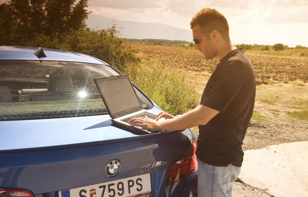 FOTOREPORTAJ: Călătorie Bucureşti-Sofia cu noul BMW M5 - Poza 27